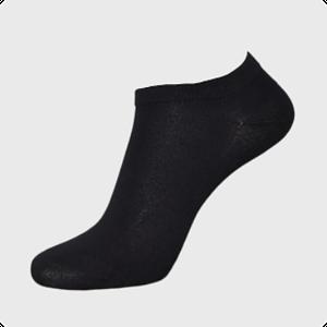 ankel strømpe i sort