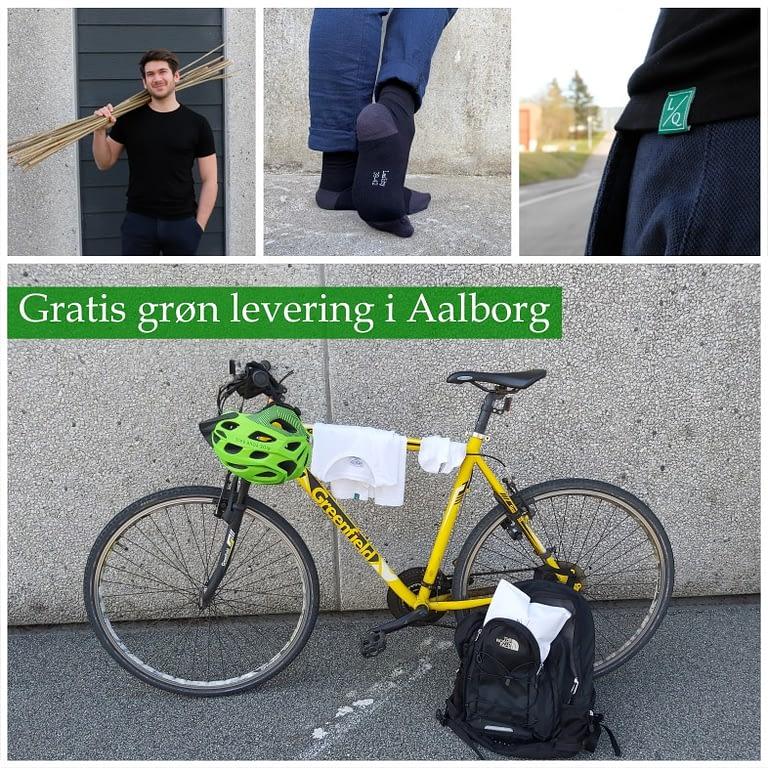 Cykel og bambus tøj